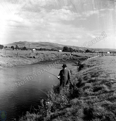 Fishing, River Aire near Gargrave